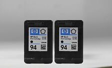 2 pack black ink cartridge for hp 94 2 pk (C8765WN) Fits for hp OFFICEJET7210