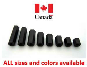 5 Nylon Plastic Spacers Washer Hexagonal HEX M3 M4 M5 M6 M7 M8 M9 M10 M11 M12