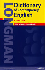 Longman DICTIONARY OF CONTEMPORARY ENGLISH 6th Edition for ADVANCED Learners NEW