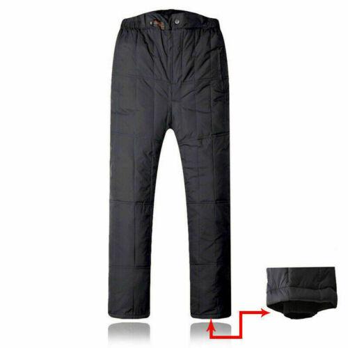 Messieurs Down Pantalon chaud tampon Pantalon épais hiver doublure plus chaud extérieur NEUF