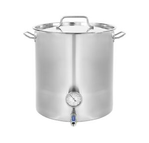 CONCORD-Stainless-Steel-Home-Brew-Kettle-Brewing-Stock-Pot-Beer-TRIPLY-BOTTOM