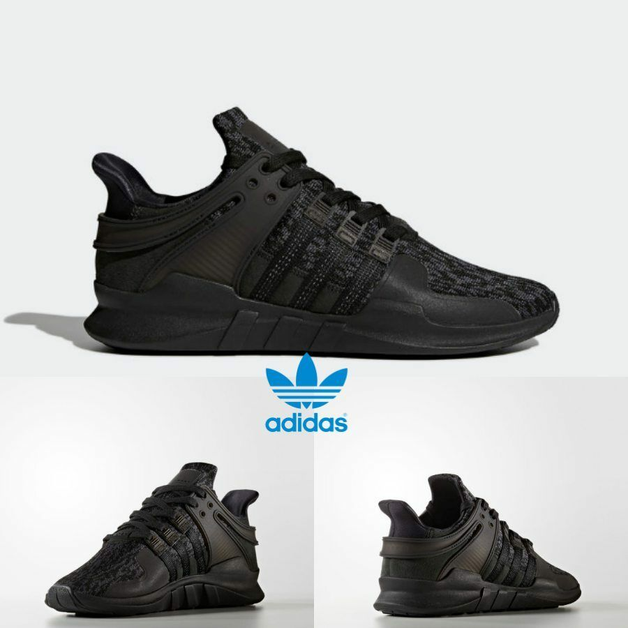 Adidas Originals EQT Support ADV Shoes Boost Black BY9587 Size 4-11 ... df185170d