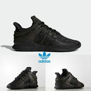 sale retailer ed0d2 1586b Image is loading Adidas-Originals-EQT-Support-ADV-Shoes-Boost-Black-
