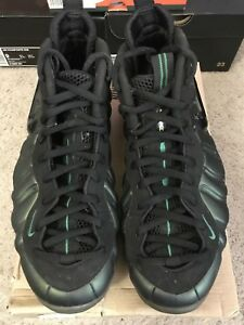 f5e3420a38cc0 2011 Nike Air Foamposite PRO Pine Green Black 624041-301 Size 10.5 ...