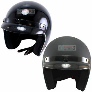Fulmer Motorcycle Helmet 75B Series Head Protection DOT iShade Black//Silver