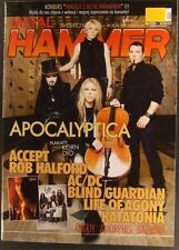 APOCALYPTICA, Korn,Blind Guardian,AC/DC,Accept,Rob Halford,Katatonia,Amorphis
