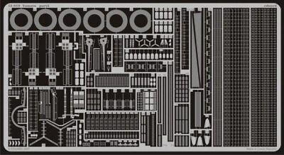 Eduard 1/350 Yamato Etch Per Kit Tamiya # 53019-mostra Il Titolo Originale