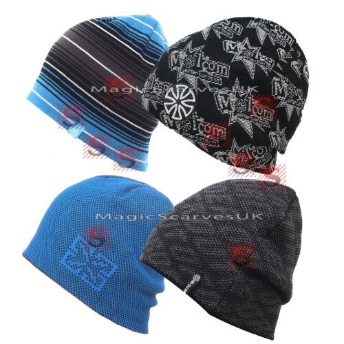 Winter Outdoor Men Sports Fleece Warm Knitted Beanie Snowboard Ski Hat Black