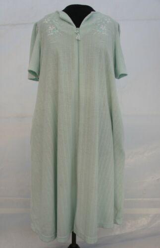 Vintage Miss Elaine Classics Terry Cloth Robe Maxi