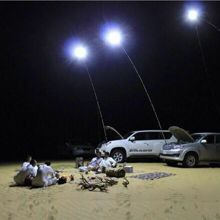 4M Telescopic Rod Car Repair LED Lantern Outdoor Camping  Lamp + Remote Control  official authorization