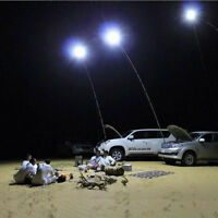 Telescopic Rod Car Repair Led Lantern Outdoor Camping Lamp + Remote Control