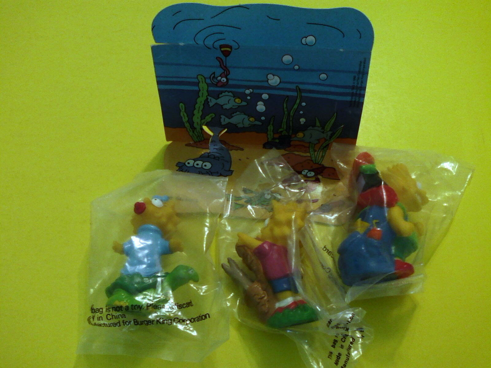THE SIMPSONS Jahr NEW HERMETICALLY SEALED TV CARTOON CHARACTERS SpielzeugS   Kinder