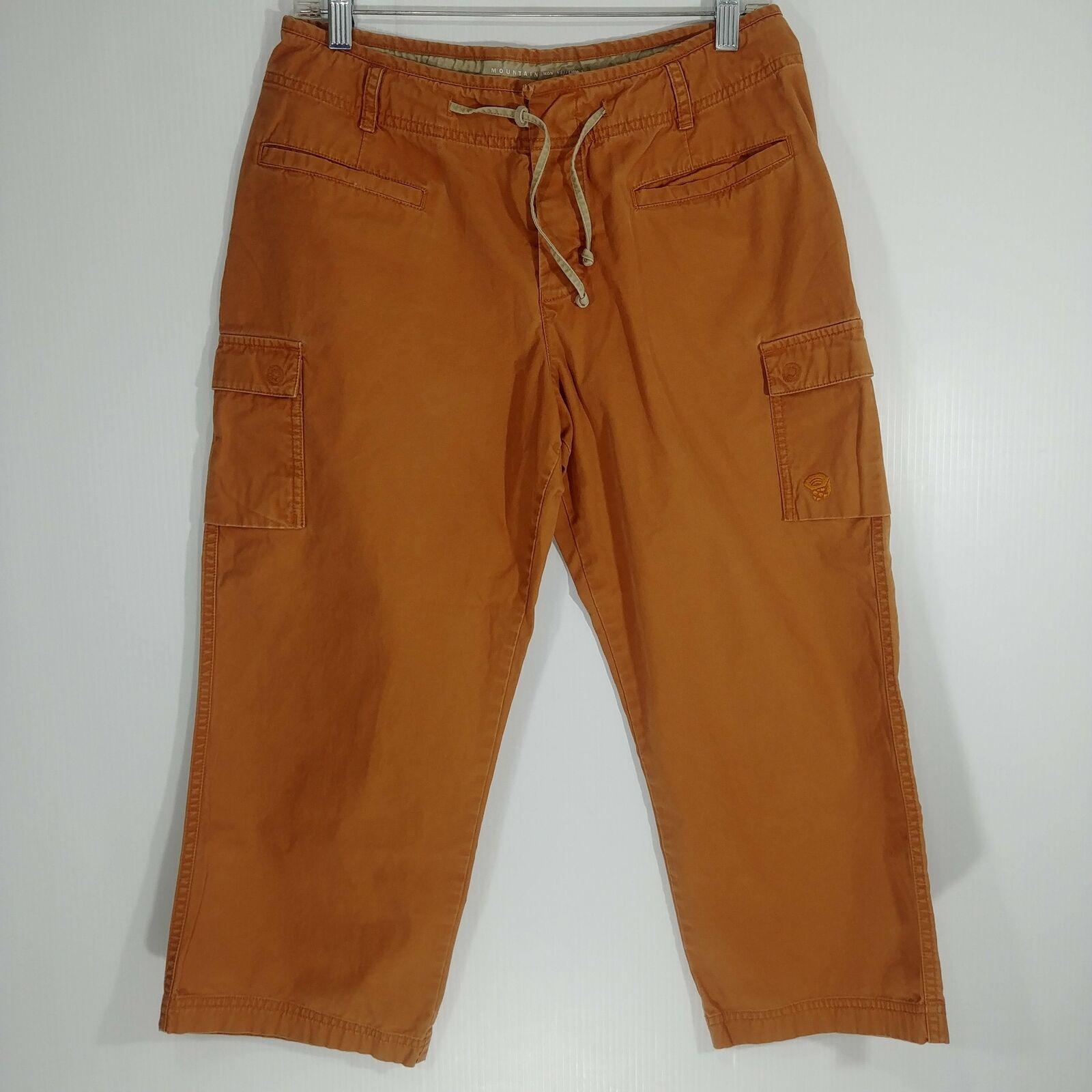 Mountain Hardwear Cropped Hiking Pants - Women's 8 - Pre-owned (G44KT8-B10)