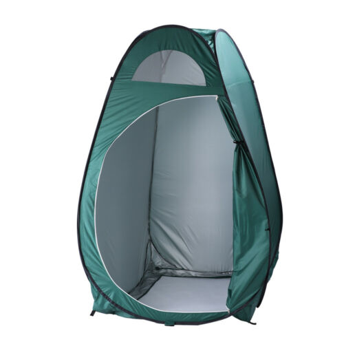 Folding Portable Outdoor Camp Toilet Large Pop Up Tent Privacy Shelter Camping