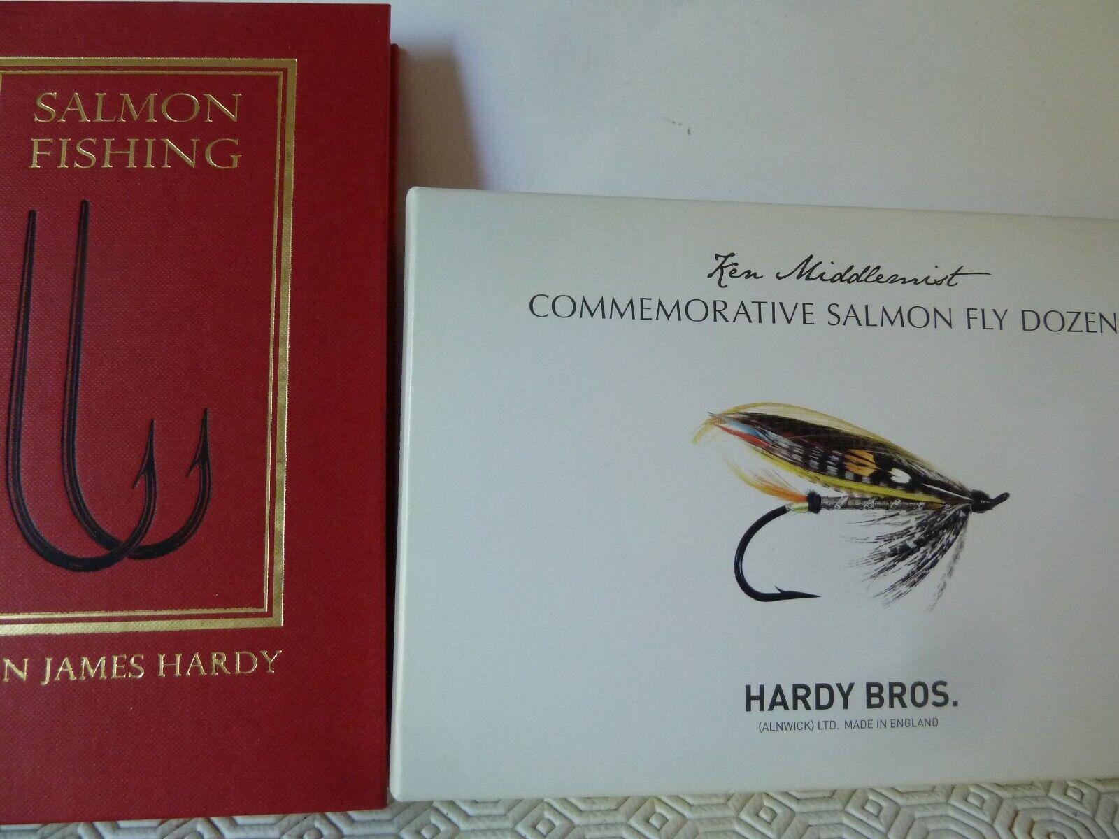 Hardy Bros Ken Middlemist Commemorative Salmon Fly Dozen  - Limited Edition No.41  order now enjoy big discount