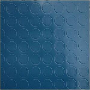 Frisch PVC Bodenbelag Tarkett Retro Noppe Blau 2m | 8,90 EUR/1m² | eBay CR64