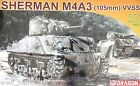Dragon 7274: 1/72 Sherman M4A3(105mm) VVSS (Armor Pro Kit)