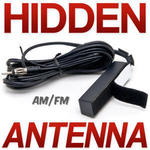 Hidden Car Truck Boat Windshield Mount Electronic AM-FM Radio Universal Antenna