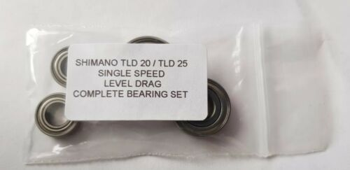 SHIMANO TLD 25  COMPLETE BEARING SET ***ABEC 7 STAINLESS *** SHIMANO TLD 20