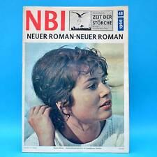 NBI 48/1966 DDR Renate Blume Glühlampenwerk Berlin Pyrotechnik Donau Nünberg