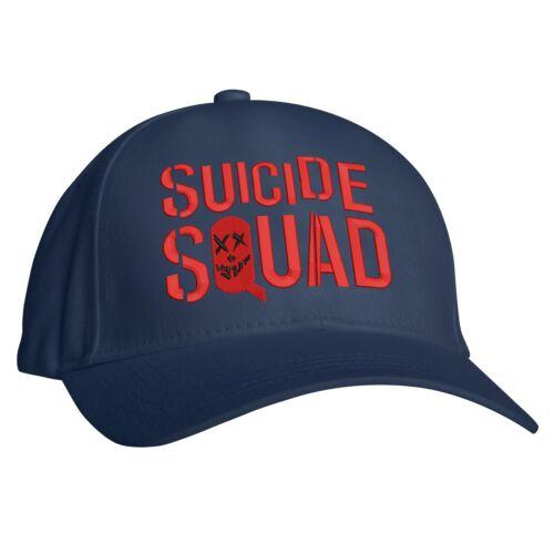 Embroidered Design Science Fiction Fantasy Film Hat Suicide Squad Baseball Cap