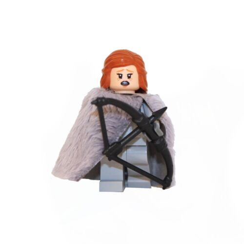 Custom Game of Thrones Ygritte Minifigure Made using LEGO /& custom parts.