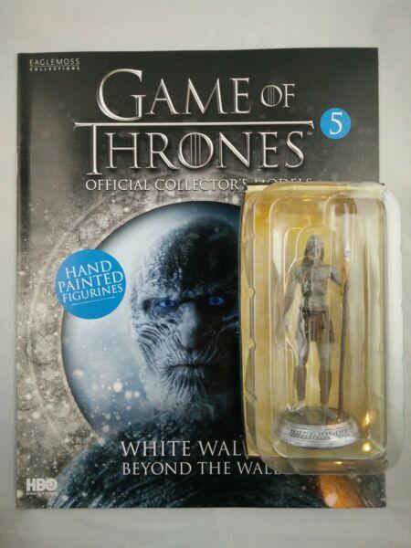 Cordiale Game Of Thrones Issue 5 Bianco Walker Eaglemoss Statuetta Figura Collector's Modello