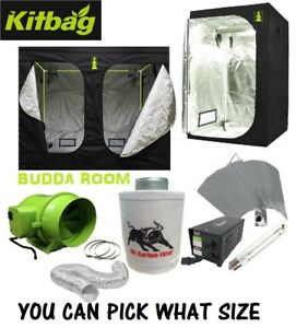 Image is loading Hydroponic-Grow-Room-Tent-Kit-Fan-Carbon-Filter-  sc 1 st  eBay & Hydroponic Grow Room Tent Kit Fan Carbon Filter 4