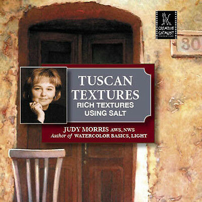 NEW DVD: TUSCAN TEXTURES  Rich Textures Using Salt with Judy Morris