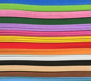A4 EVA Green Plain Foam Sheets Childrens Kids Art /& Crafts 2mm Chunky Colours