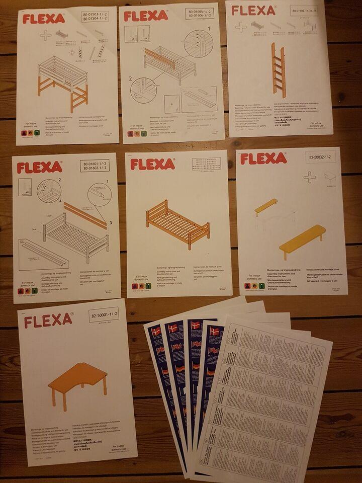 Højseng, Flexa Classic, b: 110 l: 210