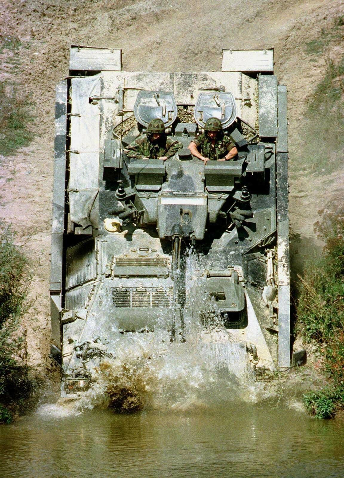 ARMY Warrior FV510 Armoured Personnel Carrier Photo Print