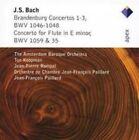 Bach: Brandenburg Concertos Nos. 1-3; Concerto for Flute (CD, May-2004, Apex (UK))