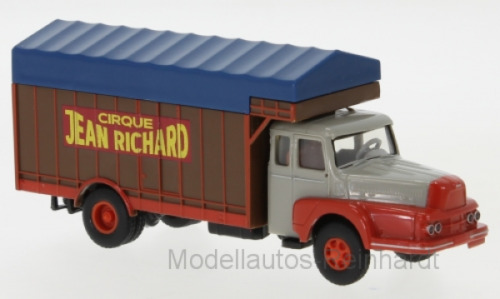 1//87 Brekina UNIC ZU 122 Circus Jean Richard 85510