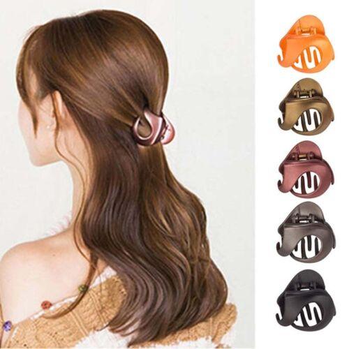 Plastic Women Hair Claws Crab Clamp Hair Clip Fashion Make Up Hair Styling Tools