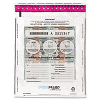 Mmf Industries Freezfraud Tamper-evident Deposit Bags 12 X 16 Clear 100/box on sale
