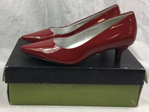 Women/'s Trotters Paulina Pump Size 5.5 in Red Patent NEW in Box FAST Priority SH