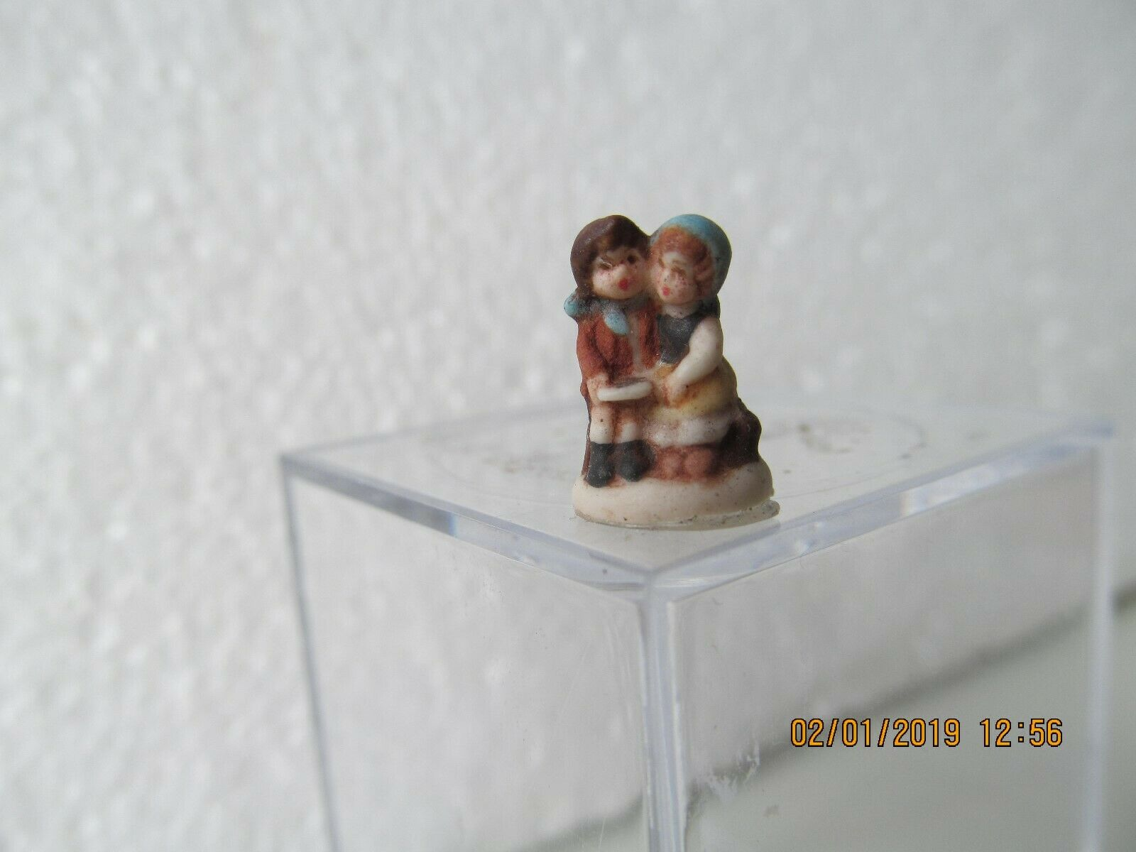 DOLLHOUSE MINI  INCH SCALE signed Hummel recreations