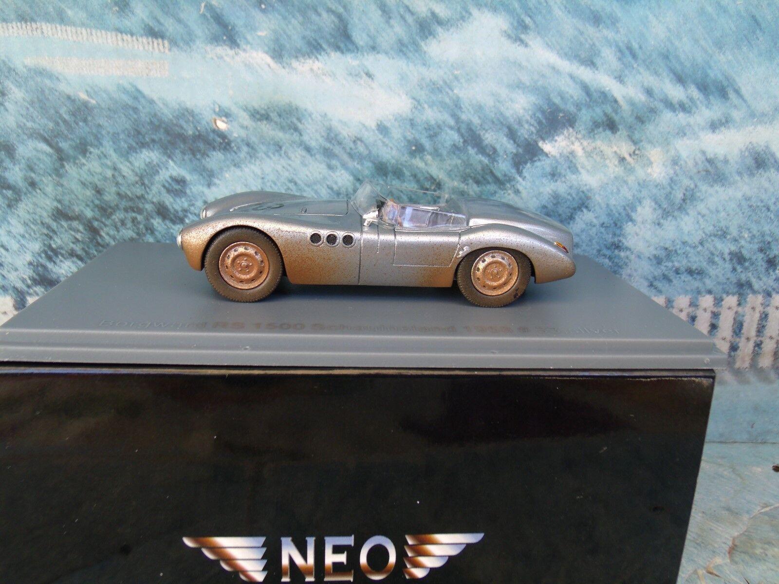 1 43  NEO  BORGWARD RS 1500, Schauinsland 1958