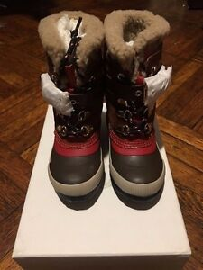 Kid-039-s-Burberry-Double-Buckle-Fur-Boot-sz-25-US-Toddler-8