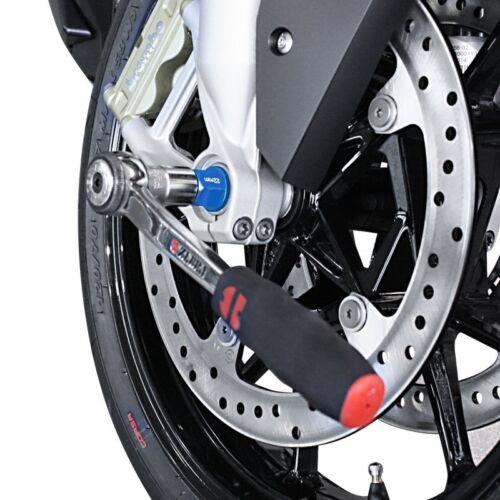 Motorrad Steckachsen Nuss Einsatz Innensechskant Imbus 17-19-22-24 mm Inbus blau