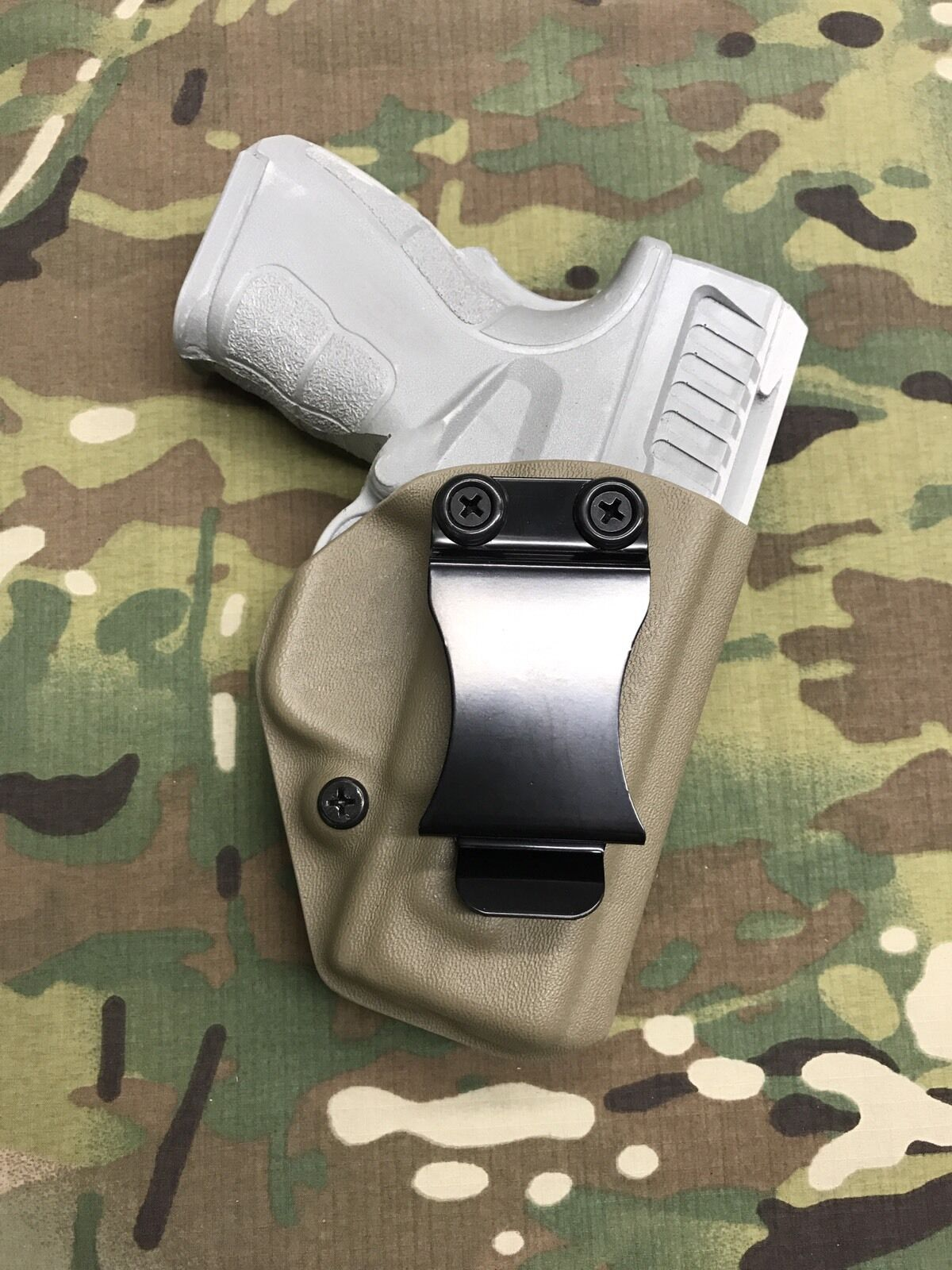 FDE Kydex IWB Holster for Springfield XD MOD.2 3  9 40 w  adj. Retention