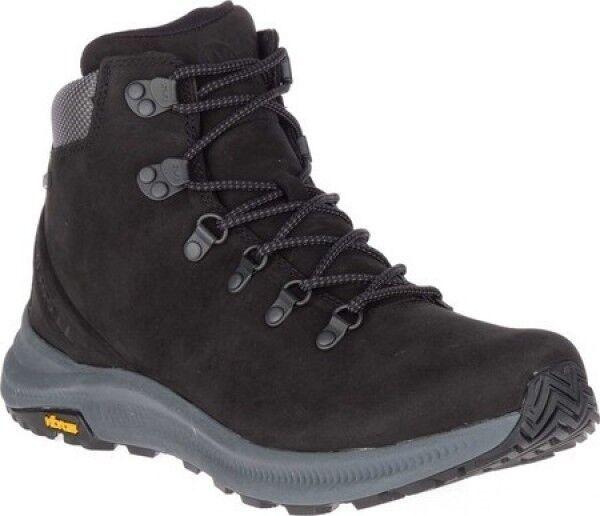 NEW Mens Merrell Ontario Mid Waterproof Hiker nero Leather stivali AUTHENTIC