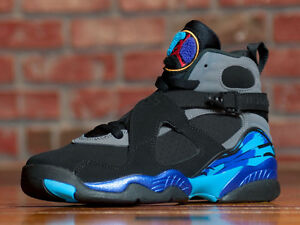 best sneakers bf7cb 944f6 Image is loading YOUTH-NIKE-AIR-JORDAN-8-RETRO-VIII-GS-