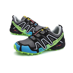 Details about Men Non slip Shock Absorbing Hiking Shoes Sport Breathable Outdoor Shoes O263HC