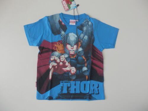 MARVEL Kinder T-Shirt Thor blau Gr 92 116 122 neu 98