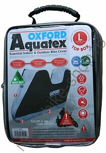 Oxford-Aquatex-Cover-with-Top-Box-Out-Indoor-Motorcycle-Cover-size-L-Large-CV205