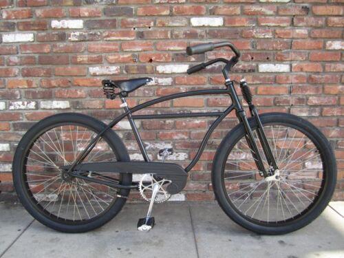 New Monark  Dual Spring Bike Bicycle Suspension Fork w//Black Parts Built in USA