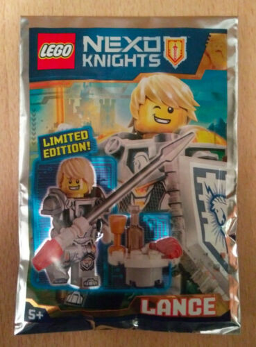 POLYBAG SET LEGO FIGURINE MINIFIGURE CHEVALIER NEXO KNIGHTS LANCE ET BOUCLIER