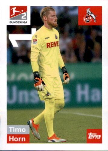 TOPPS Bundesliga 2018//2019 Timo Horn Sticker 289